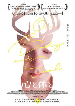 「心と体と」のポスター/チラシ/フライヤー