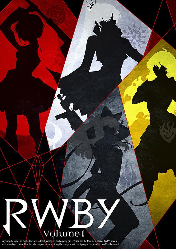 「RWBY Volume1」のポスター/チラシ/フライヤー
