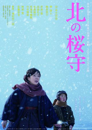 「北の桜守」のポスター/チラシ/フライヤー