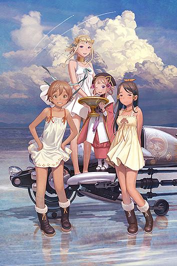 「ラストエグザイル 銀翼のファム Over The Wishes」のポスター/チラシ/フライヤー